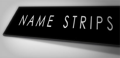 NAME STRIPS